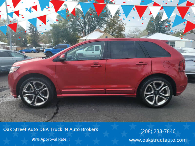 2012 Ford Edge for sale at Oak Street Auto DBA Truck 'N Auto Brokers in Pocatello ID