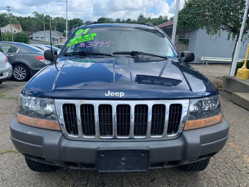 2001 Jeep Grand Cherokee for sale at G & G Auto Sales in Steubenville OH