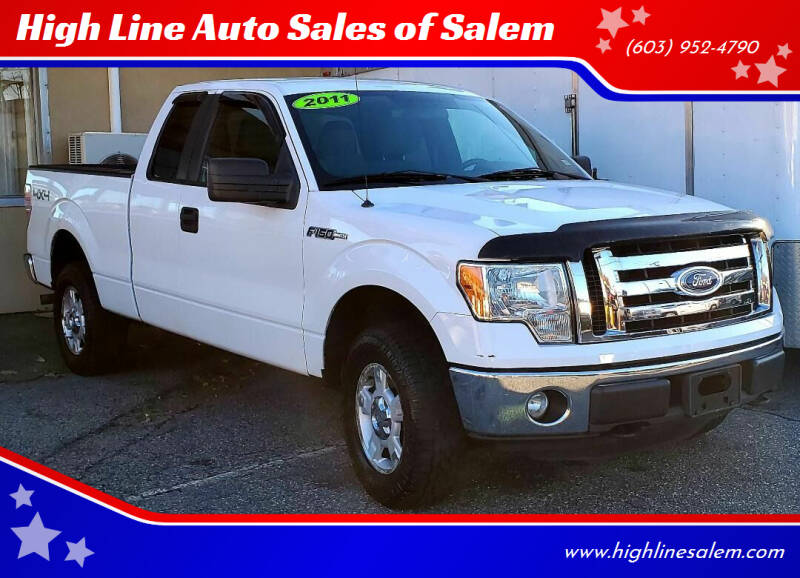 2011 Ford F-150 for sale at High Line Auto Sales of Salem in Salem NH