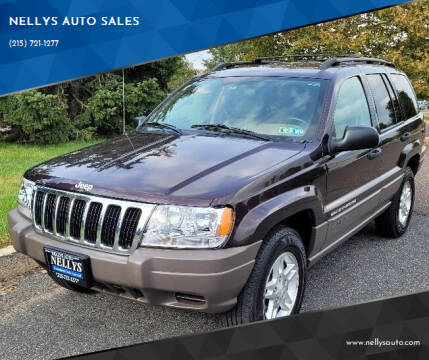 2003 Jeep Grand Cherokee for sale at NELLYS AUTO SALES in Souderton PA