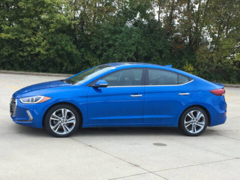 2017 Hyundai Elantra for sale at LANDMARK OF TAYLORVILLE in Taylorville IL