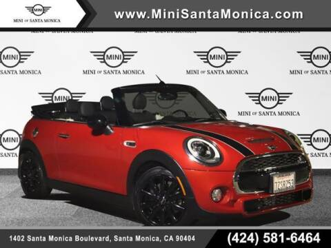 2017 MINI Convertible for sale at MINI OF SANTA MONICA in Santa Monica CA
