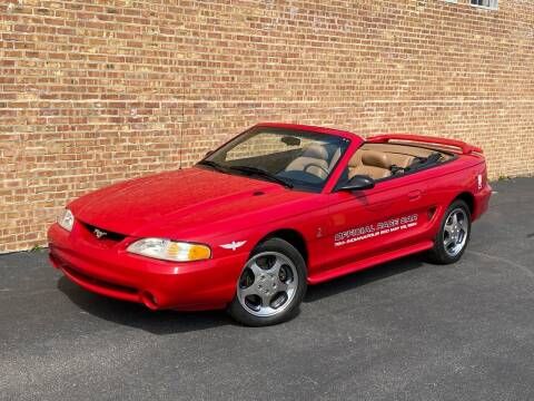 1994 Ford Mustang SVT Cobra for sale at MGM CLASSIC CARS in Addison IL