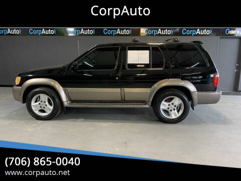 2002 Infiniti QX4 for sale at CorpAuto in Cleveland GA