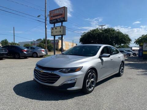 2020 Chevrolet Malibu for sale at Autohaus of Greensboro in Greensboro NC