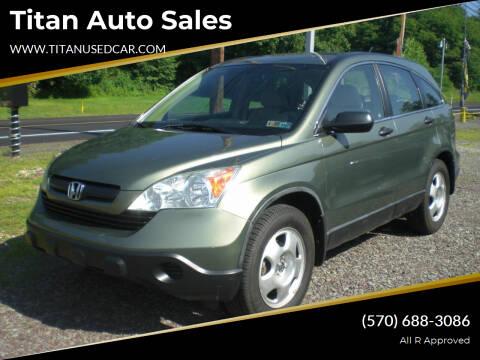 2008 Honda CR-V for sale at Titan Auto Sales in Berwick PA