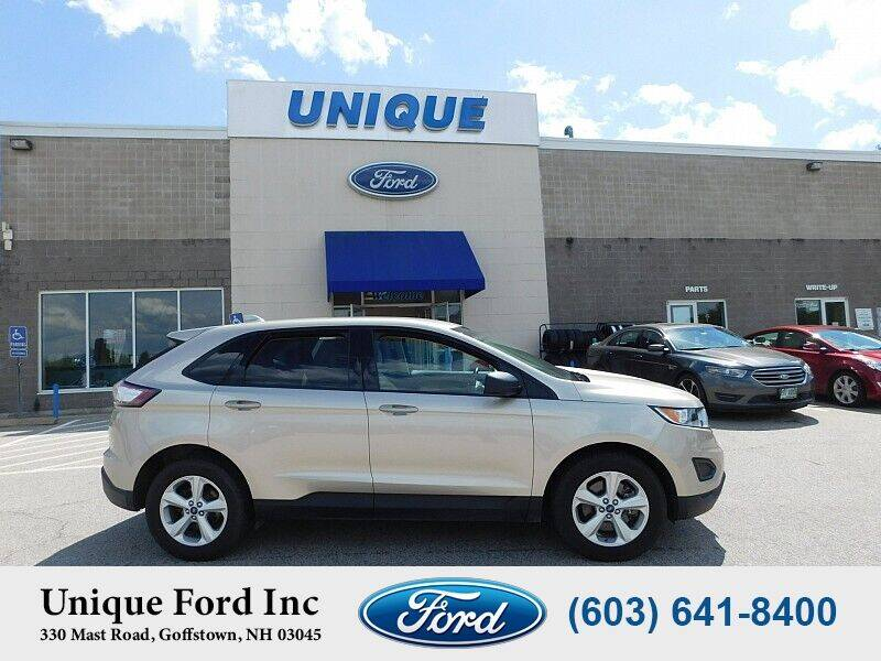 2018 Ford Edge for sale at Unique Motors of Chicopee - Unique Ford in Goffstown NH