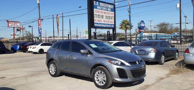 2011 Mazda CX-7 for sale at S.A. BROADWAY MOTORS INC in San Antonio TX