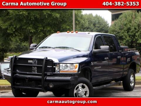2006 Dodge Ram Pickup 2500 for sale at Carma Auto Group in Duluth GA