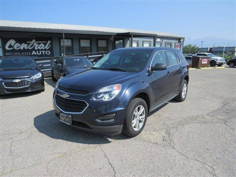 2017 Chevrolet Equinox for sale at Central Auto in South Salt Lake UT