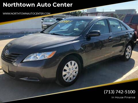 2007 Toyota Camry for sale at Northtown Auto Center in Houston TX
