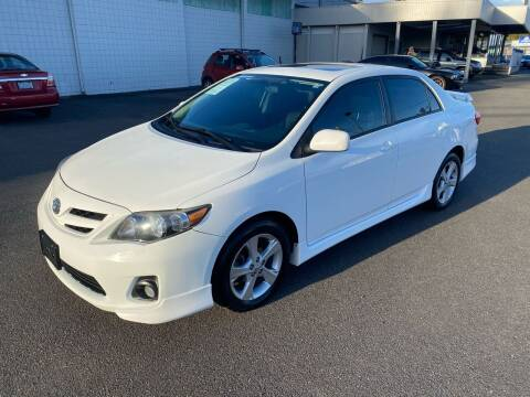 2012 Toyota Corolla for sale at Vista Auto Sales in Lakewood WA