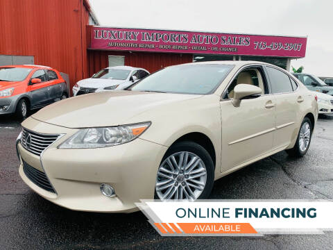 2013 Lexus ES 350 for sale at LUXURY IMPORTS AUTO SALES INC in North Branch MN