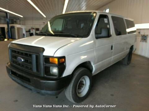 2009 Ford E-Series Wagon for sale at Vans Vans Vans INC in Blauvelt NY