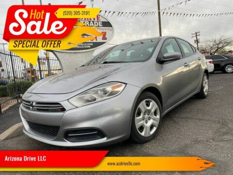 2016 Dodge Dart for sale at Arizona Drive LLC in Tucson AZ