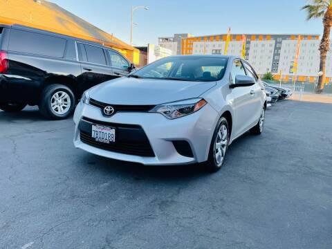 2014 Toyota Corolla for sale at Ronnie Motors LLC in San Jose CA