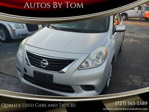 2013 Nissan Versa for sale at Autos by Tom in Largo FL