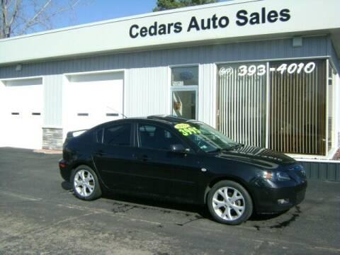 2009 Mazda MAZDA3 for sale at Cedar Auto Sales in Lansing MI