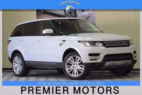 2015 Land Rover Range Rover Sport for sale at Premier Motors in Hayward CA