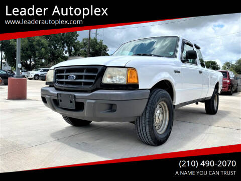 2003 Ford Ranger for sale at Leader Autoplex in San Antonio TX