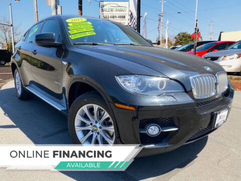 2012 BMW X6 for sale at Salem Auto Market in Salem OR