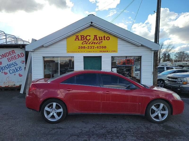 2006 Pontiac G6 for sale at ABC AUTO CLINIC - Chubbuck in Chubbuck ID
