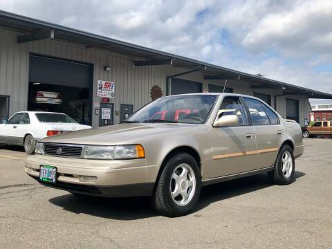 1992 Nissan Maxima for sale at DASH AUTO SALES LLC in Salem OR