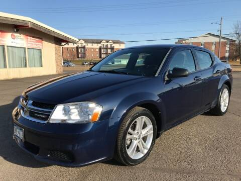 2013 Dodge Avenger for sale at Lawrence Family Motors in Saint Cloud MN