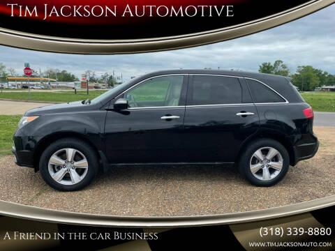 2013 Acura MDX for sale at Tim Jackson Automotive in Jonesville LA