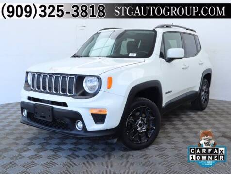 2019 Jeep Renegade for sale at STG Auto Group in Montclair CA