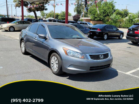 2009 Honda Accord for sale at Affordable Luxury Autos LLC in San Jacinto CA