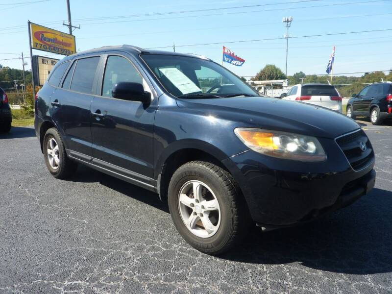 2007 Hyundai Santa Fe for sale at Roswell Auto Imports in Austell GA