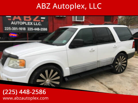 2004 Ford Expedition for sale at ABZ Autoplex, LLC in Baton Rouge LA