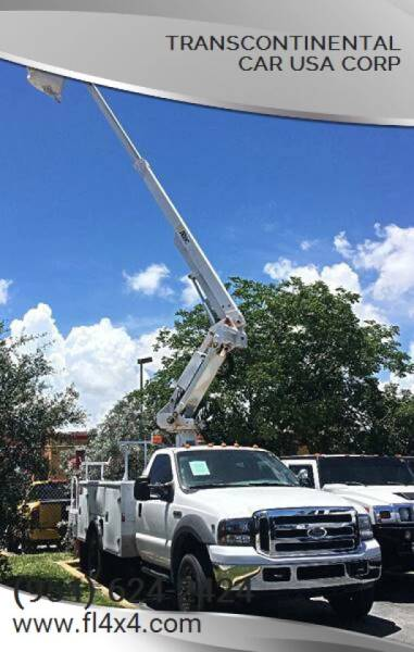 2005 Ford F-450 for sale at Transcontinental Car USA Corp in Fort Lauderdale FL
