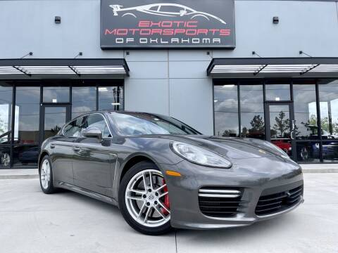 2014 Porsche Panamera for sale at Exotic Motorsports of Oklahoma in Edmond OK