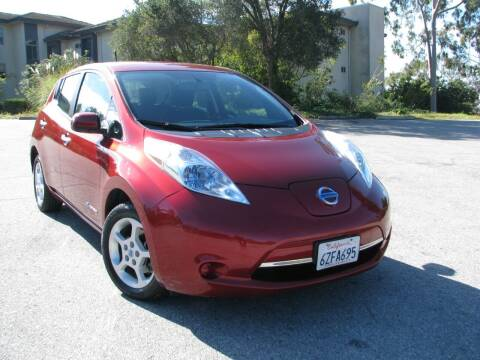 2013 Nissan LEAF for sale at Used Cars Los Angeles in Los Angeles CA