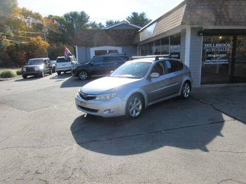 2008 Subaru Impreza for sale at Millbrook Auto Sales in Duxbury MA