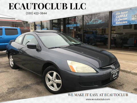 2003 Honda Accord for sale at ECAUTOCLUB LLC in Kent OH