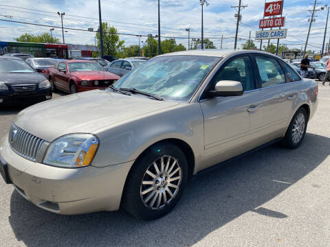 2006 Mercury Montego for sale at 4th Street Auto in Louisville KY