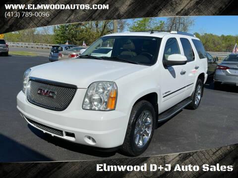 2009 GMC Yukon for sale at Elmwood D+J Auto Sales in Agawam MA