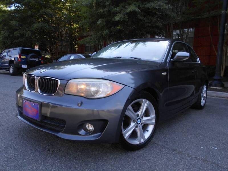 2013 BMW 1 Series for sale at H & R Auto in Arlington VA