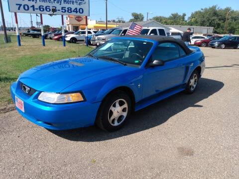 2000 Ford Mustang for sale at L & J Motors in Mandan ND