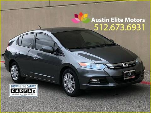2012 Honda Insight for sale at Austin Elite Motors in Austin TX