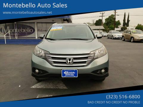 2012 Honda CR-V for sale at Montebello Auto Sales in Montebello CA