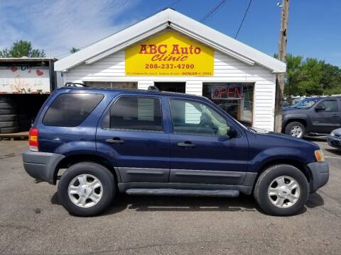 2003 Ford Escape for sale at ABC AUTO CLINIC - Chubbuck in Chubbuck ID