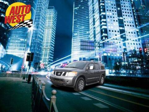 2015 Nissan Armada for sale at Autowest of GR in Grand Rapids MI