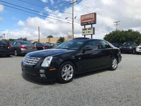 2007 Cadillac STS for sale at Autohaus of Greensboro in Greensboro NC