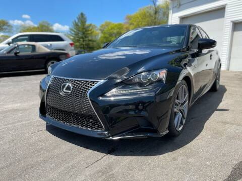 2014 Lexus IS 250 for sale at SOUTH SHORE AUTO GALLERY, INC. in Abington MA