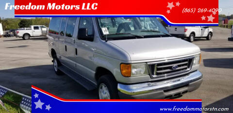 2005 Ford E-350 for sale at Freedom Motors LLC in Knoxville TN
