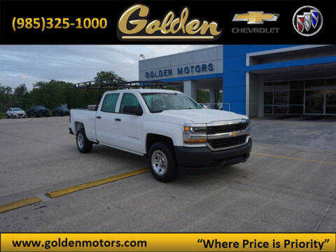 2016 Chevrolet Silverado 1500 for sale at GOLDEN MOTORS in Cut Off LA